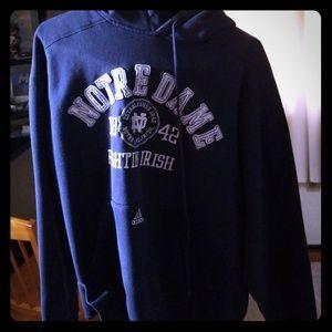 Notre dame Adidas hoodie